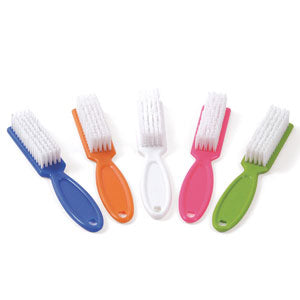 Nail Brush Ten Pack Assorted Colors