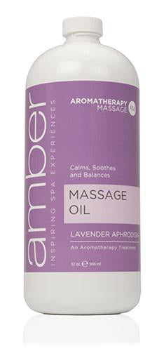Massage Oil 32oz. Lavender Aphrodisia