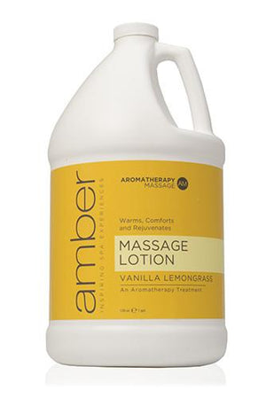 Massage Lotion 128 oz. Vanilla Lemongrass