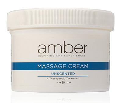Unscented Massage Cream 8 oz.