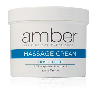 Unscented Massage Cream 32 oz.