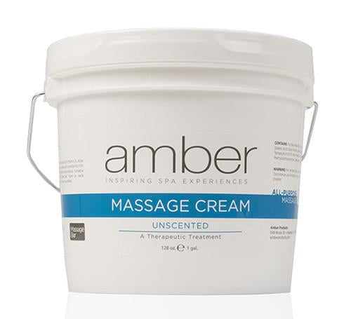 Unscented Massage Cream 128 oz.