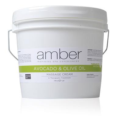 Olive & Avocado Cream Therapeutic 128 oz.