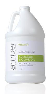 Olive Oil & Avocado Oil Therapeautic Oil 128 oz.
