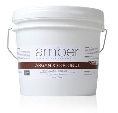 Argan & Coconut Cream Therapeutic Cream 128 oz.