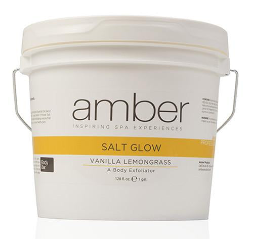 Salt Glow Vanilla Lemongrass 128 oz.