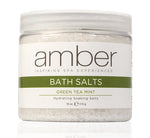 Bath Salts - 18 oz. Green Tea Mint