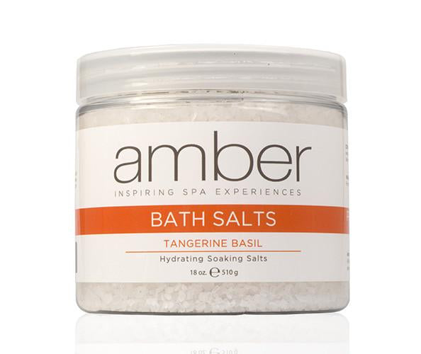 Bath Salts - Tangerine Basil 18 oz.