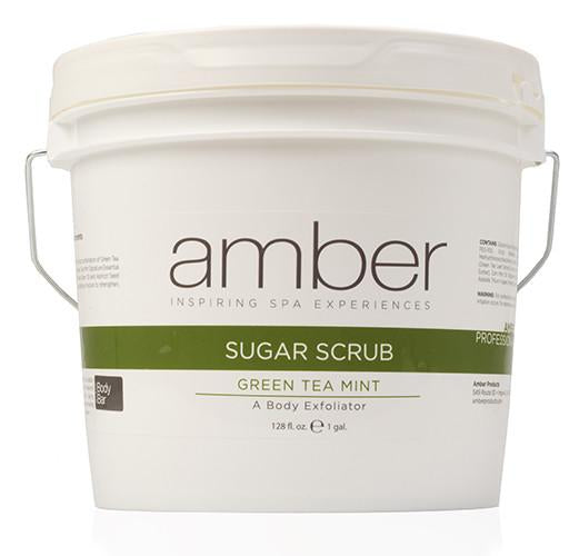 Sugar Scrub Green Tea Mint 128 oz.