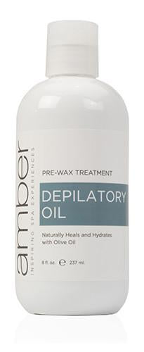 Depilatory Oil - 8 oz.