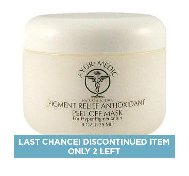 Ayurmedic Pigment Relief Peel Off Mask 8oz
