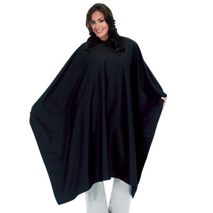 Styling Cape - Plus Size - Black