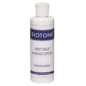 Biotone Deep Tissue Massage Lotion 8oz