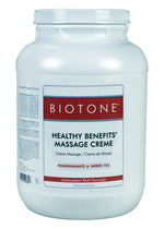 Biotone Healthy Benefits Massage Creme Gallon