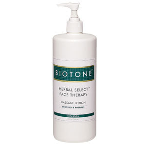 Biotone Herbal Select Face Lotion 32oz.