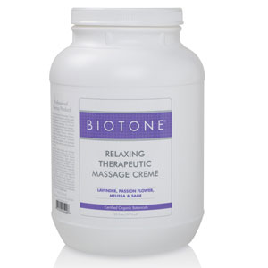 Biotone Therapeutic Massage Creme 128oz