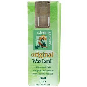 Clean & Easy Original Wax Refill Small 3pk
