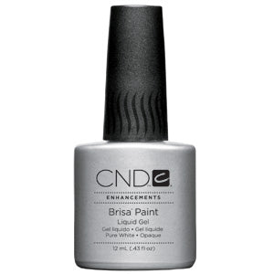 CND Brisa Paint-Pure White-Opaque .43 oz.
