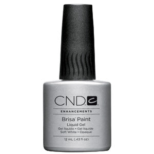 CND Brisa Paint-Soft White-Opaque .43 oz.