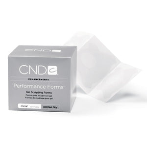 CND Performance Forms-Clear 300 ct