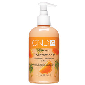 CND Tangerine & Lemongrass Body Lotion 8.3 oz.