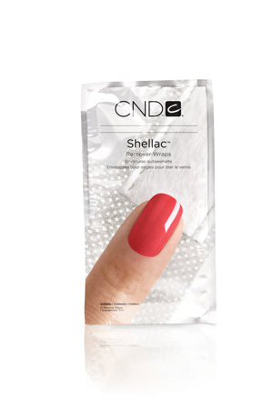 SHELLAC Remover Wrap Pack 10/p