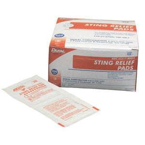 Dukal Sting Relief Pads 200/bx