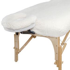 Fitted Fleece Table Pad & Headrest