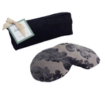 Soulage Navy Chenille Eye Relief Pillow