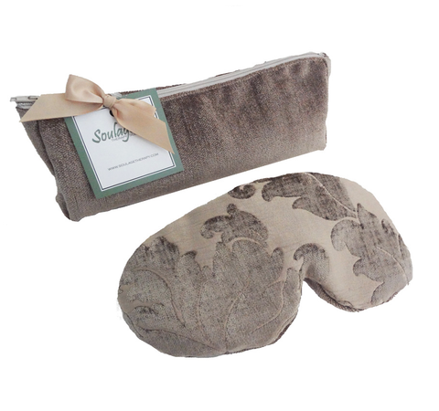 Soulage Taupe Eye Pillow