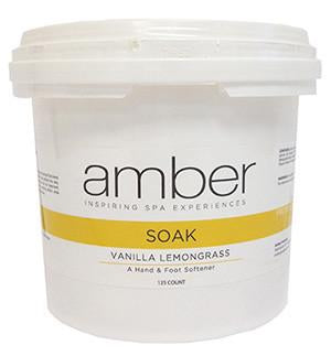 Soak Hand/Foot - Vanilla Lemongrass 125 ct.