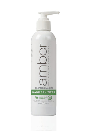 Amber Professional Green Mint Hand Sanitizer
