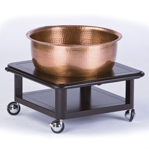 Pedi-Bowl Roll-Up Copper Bowl