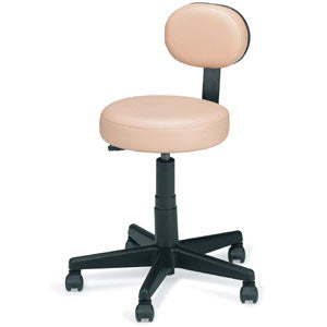 Pneumatic Stool with Back (D)