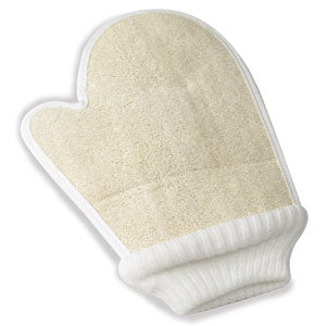 Loofah Bath Mitt with Thumb