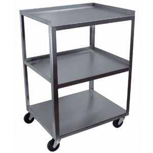 3 Shelf Stainless Utility Cart