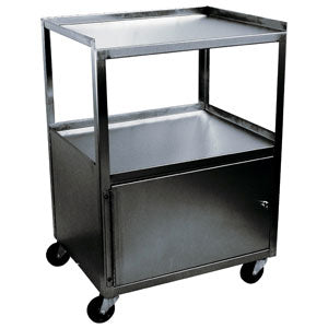 Single Cabinet Stainless Cart