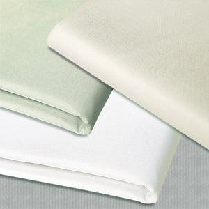 Simon West White Microfiber Flat Sheet