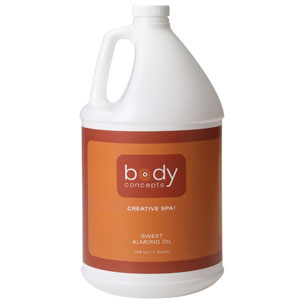 Body Concepts Almond Oil 128oz.
