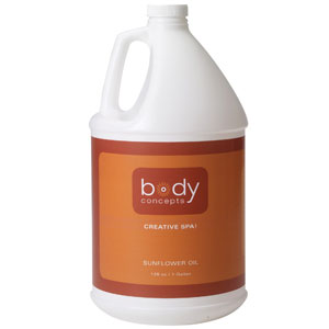 Body Concepts Sunflower Oil 128oz
