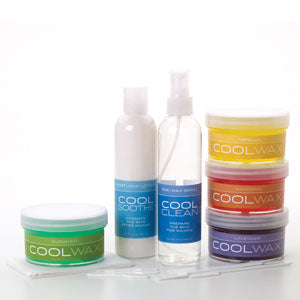 Professional Cool Wax Kit