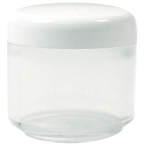 Jar and Cap Round .57oz (50 Per Pack)