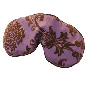 Soulage Purple Taffy/Purple Chenille Eye Relief Pillow