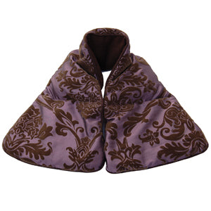 Soulage Purple Taffy/Chenille Neck Wrap