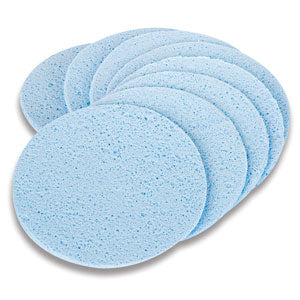 Compressed PVA Facial Sponges
