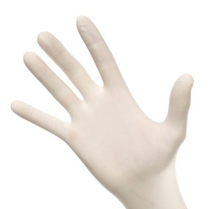 Latex Gloves Small, PF, TXT