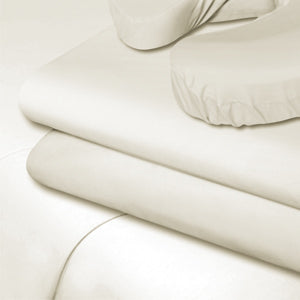 Flannel Flat Sheet White