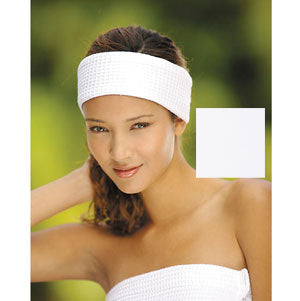 Boca Terry Microfiber Headband White