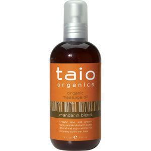 Taio Organic Massage Oil Mandarin Blend 8oz.