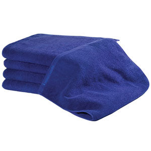 BluSand Navy Blue Bleachsafe Hand Towel/ 12 pack